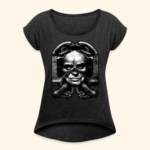 Hans Rudolf Giger - Women's Roll Cuff T-Shirt