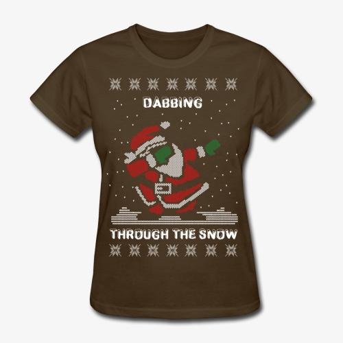 Dabbing Santa Women's Tee - Women's T-Shirt