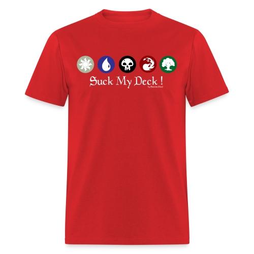 Standard Shirt Suck my Deck!! - Men's T-Shirt