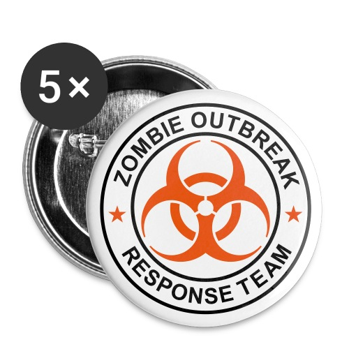 Zombie Outbreak Response Team - Button - Large Buttons