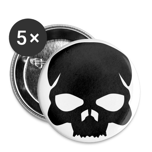 Skull - Button - Large Buttons