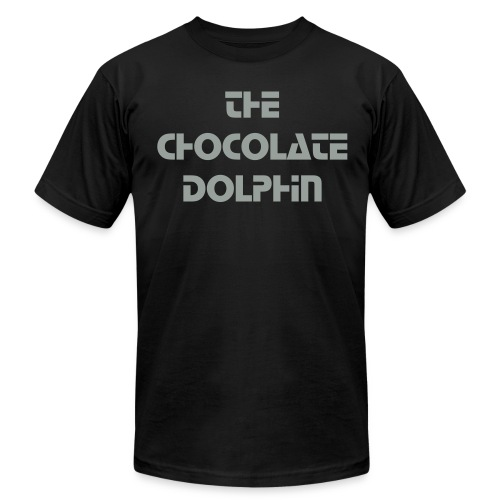 The Chocolate Dolphin Mens T- Shirt - Men's Fine Jersey T-Shirt