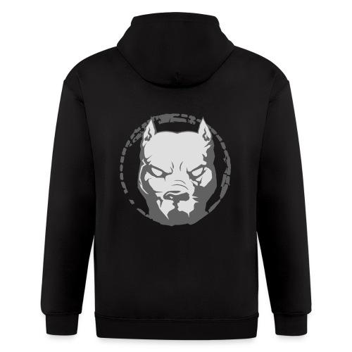 Pitbull zip hoodie - Men's Zip Hoodie