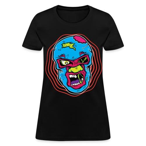 Luchador Zombie - Zombie T-Shirt - Spreadshirt  - Women's T-Shirt