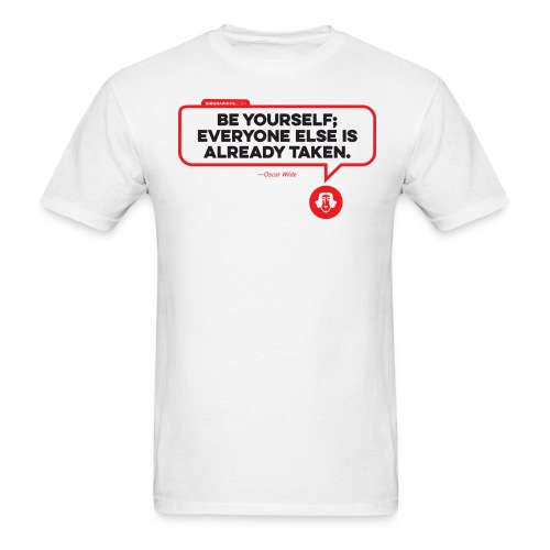 Oscar Wilde Quote - Men's T-Shirt
