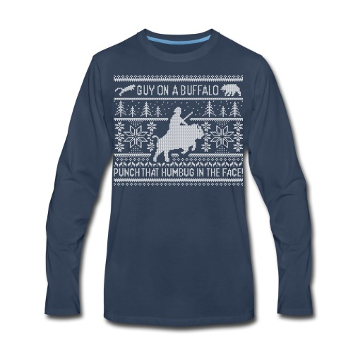 GOAB X-Mas Sweater T-shirt - Mens LS - Men's Premium Long Sleeve T-Shirt