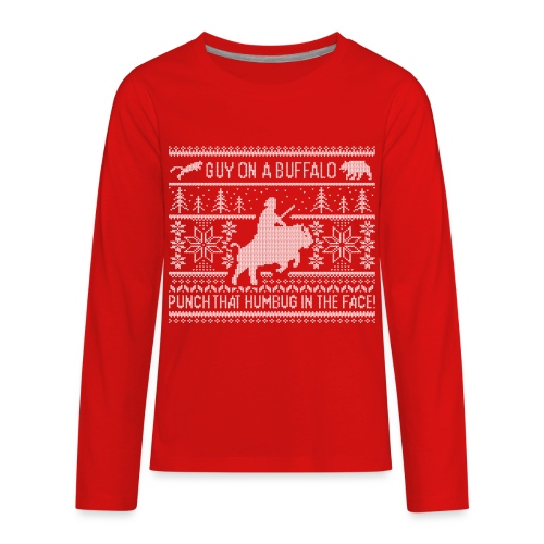 GOAB X-Mas Sweater T-shirt - Kids LS - Kids' Premium Long Sleeve T-Shirt
