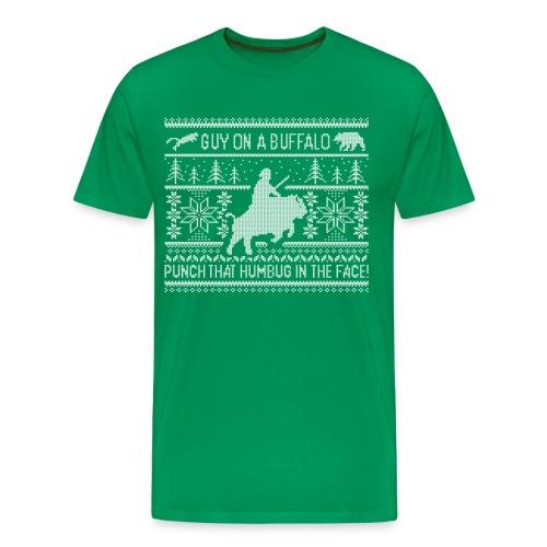 Men's GOAB X-Mas Sweater T-Shirt - Men's Premium T-Shirt
