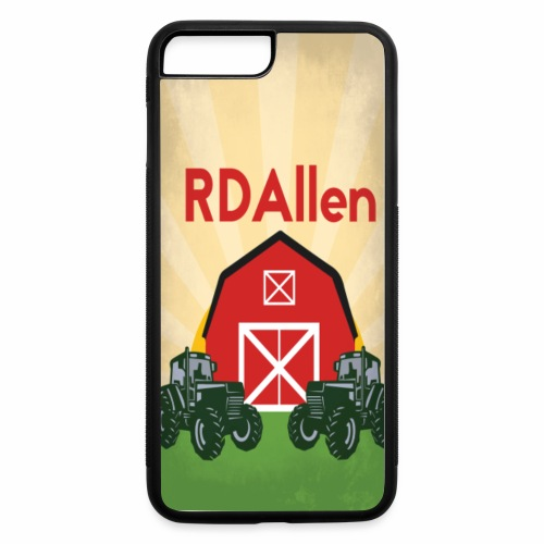 iPhones 7/8 Plus RDAllen Logo - iPhone 7 Plus/8 Plus Rubber Case