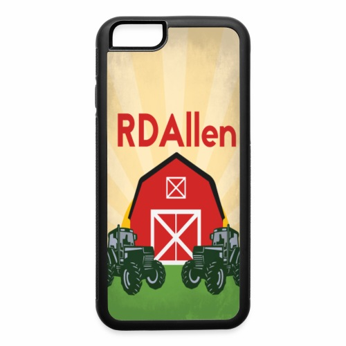iPhones 6/6S RDAllen Logo - iPhone 6/6s Rubber Case