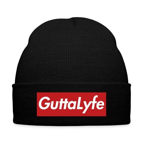 Gutta Lyfe  - Knit Cap with Cuff Print
