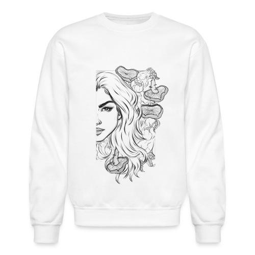 Lauren Half Crewneck Sweatshirt - Crewneck Sweatshirt