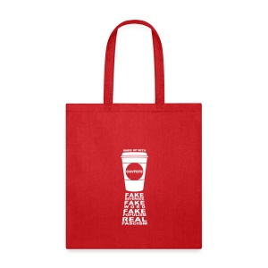 * Covfefe Coffee : Fake Populism Real Fascism *  - Tote Bag