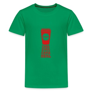 * Covfefe Coffee : Fake Populism Real Fascism *  - Kids' Premium T-Shirt