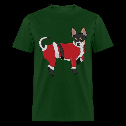 Christmas Chihuahua - Men's T-Shirt