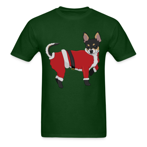 Christmas Chihuahua - Men's T-Shirt