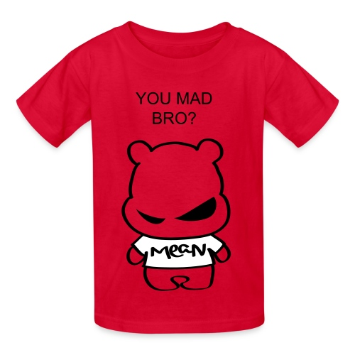 you mad bro shirt for little boys and girls  - Kids' T-Shirt
