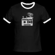 T-Shirts ~ Men's Ringer T-Shirt ~ Kick It In The Ass (Swan Song)