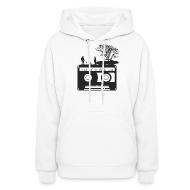 Hoodies ~ Women's Hoodie ~ Kick It In The Ass (Swan Song)
