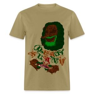 the Burning man - Men's T-Shirt