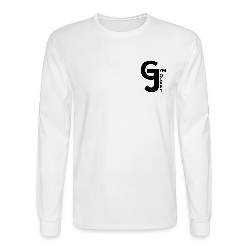 Gym Jockey Long Sleeve White - Men's Long Sleeve T-Shirt