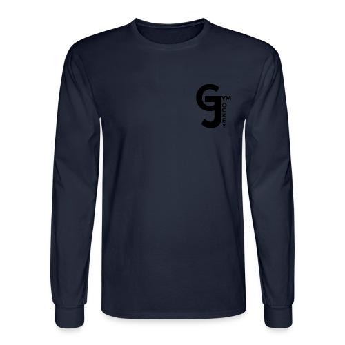 Gym Jockey Long Sleeve Navy - Men's Long Sleeve T-Shirt