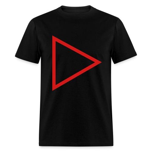 Mens Simple PlayButton T - Men's T-Shirt
