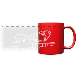 Pregnant oyster Berlin (silver) - Full Color Panoramic Mug