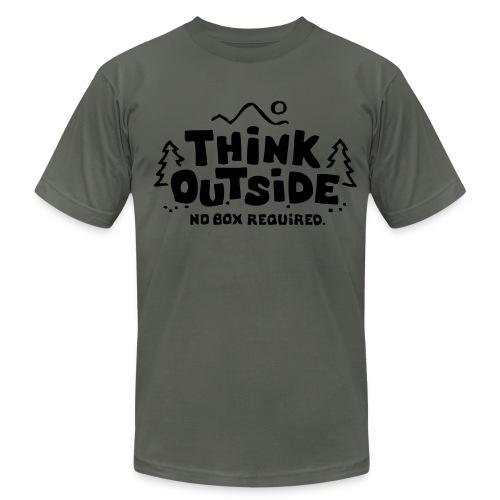 Short Sleeve thinking shirt - Men's Fine Jersey T-Shirt