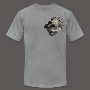 CAMO BEAR BREST - Men's T-Shirt by American Apparel