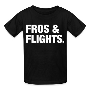 Fros & Flights - Kids' T-Shirt