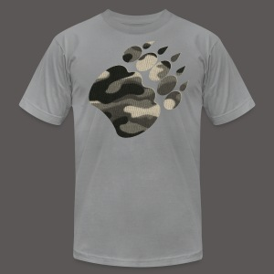 CAMO BEAR - Men's T-Shirt by American Apparel