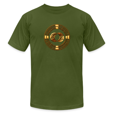 Maya Time-Wheel 2012 - crop circle - Silbury Hill T-Shirts