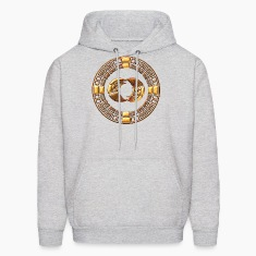 Maya Time-Wheel 2012 - crop circle - Silbury Hill Hoodies