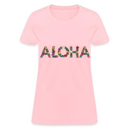 Floral aloha - Women's T-Shirt
