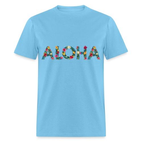 Floral aloha - Men's T-Shirt