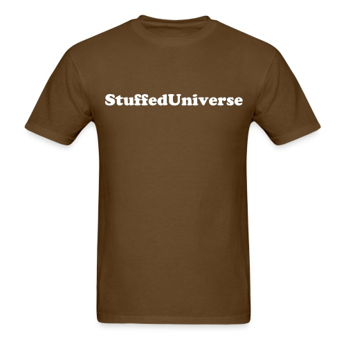 StuffedUniverse Text Shirt - Men's T-Shirt
