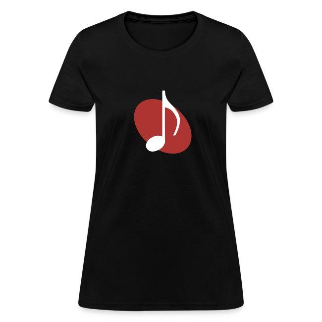 Red Music Emblem (Women's)