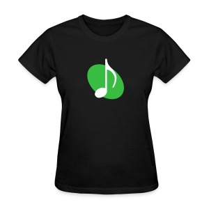 Green Music Emblem (Women's) - Women's T-Shirt