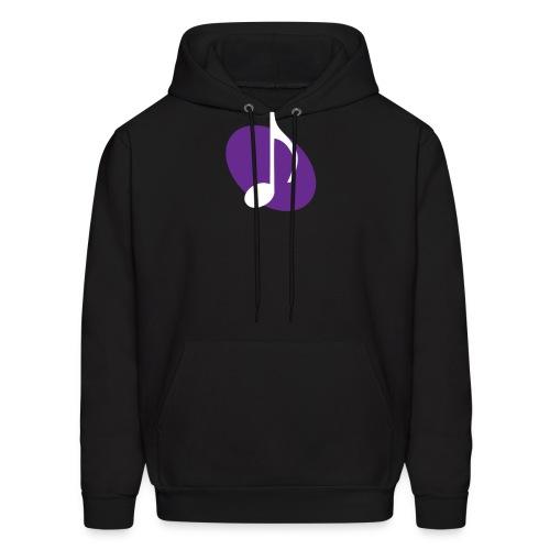 Purple Music Emblem Hoodie - Men's Hoodie