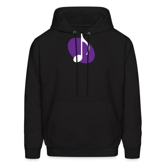 Purple Music Emblem Hoodie