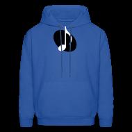 Hoodies ~ Men's Hoodie ~ Black Music Emblem Hoodie