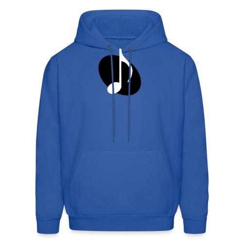 Black Music Emblem Hoodie - Men's Hoodie