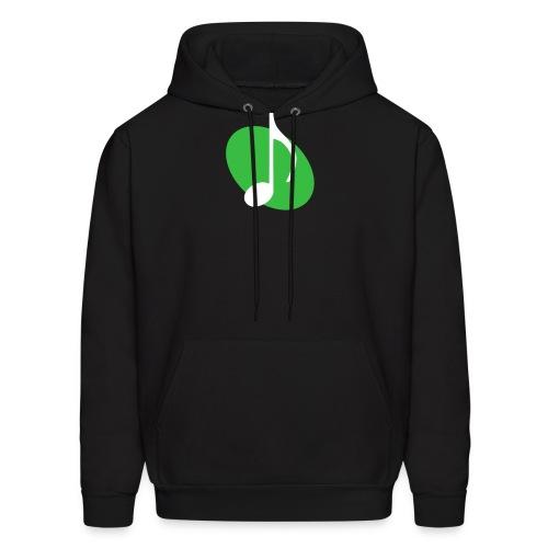 Green Music Emblem Hoodie - Men's Hoodie