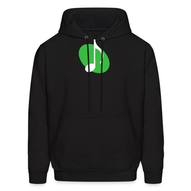 Green Music Emblem Hoodie