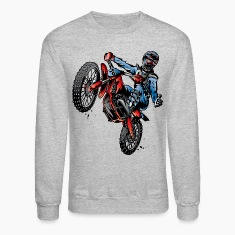 Motocross Dirt Bike Stunt Rider Long Sleeve Shirts