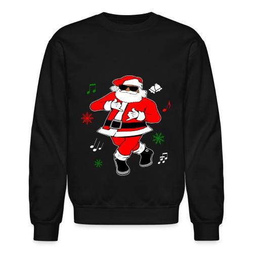 Santa JuJu on that Beat Women's (Black) - Crewneck Sweatshirt