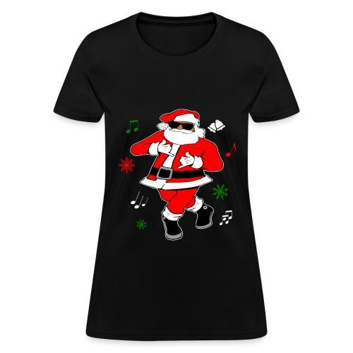 Santa JuJu on that Beat Women's (Black) - Women's T-Shirt