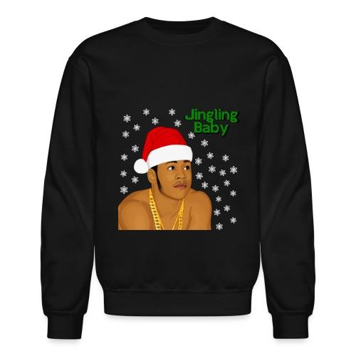 Jingling Baby - LL Cool J (Black) - Crewneck Sweatshirt