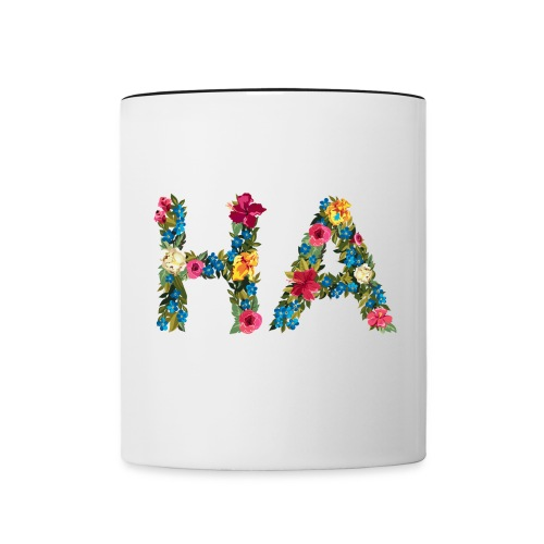 HA - Hawaii coast guard code - Contrast Coffee Mug